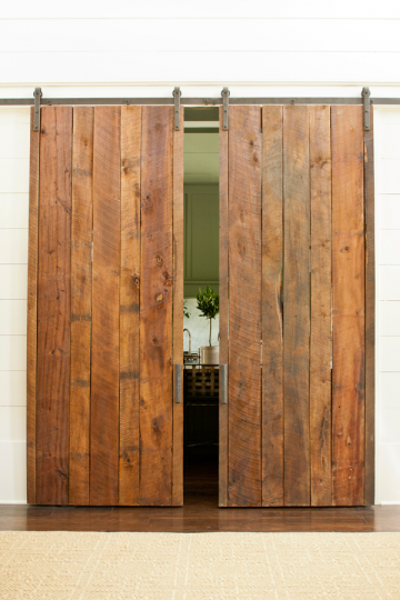 Southern Living Idea House - Wood Doors