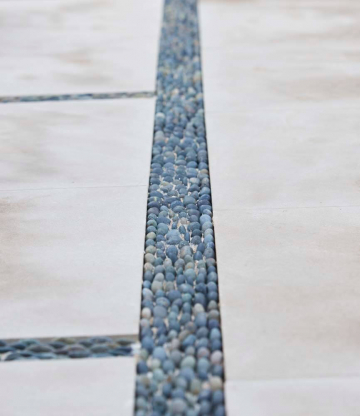 Modern Contemporary - Outdoor Living Stone Detail