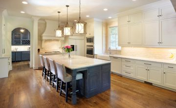 Castle Homes English Eclectic Kitchen