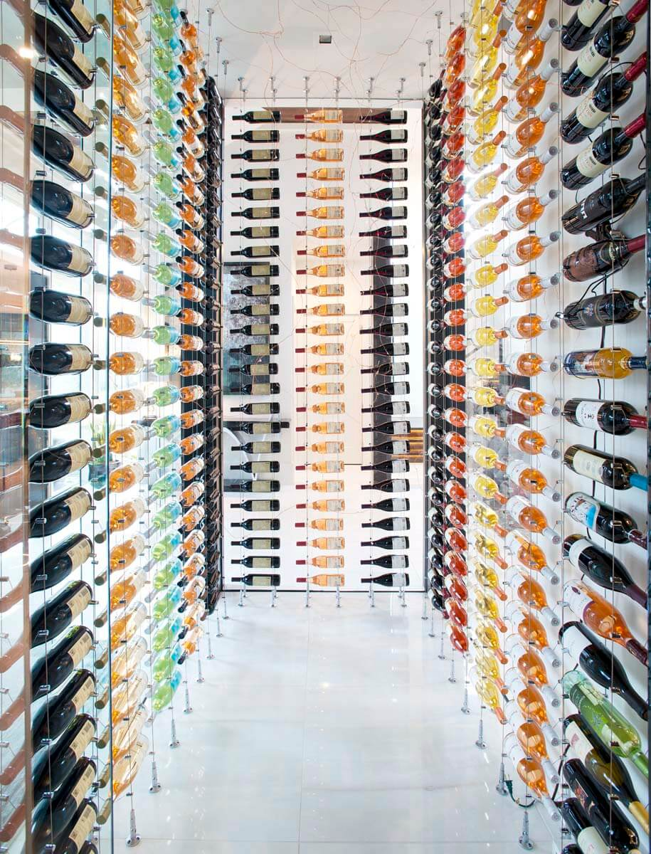 Modern Contemporary - Wine Cellar