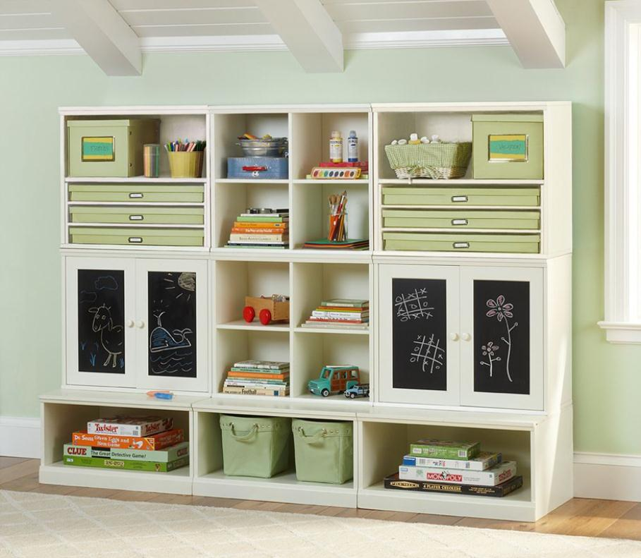 Ikea toy storage on pinterest ikea playroom for Kids room storage ideas